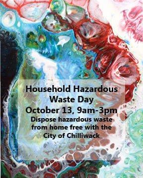 Household Hazardous Waste Day – FVRD, Chilliwack – Saturday October
