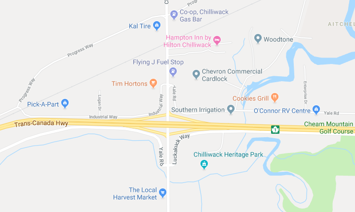 Overnight Lane Closures – Highway 1 near Lickman In